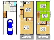 南野口町(大和田駅) 1480万円 1480万円、4LDK、土地面積41.84㎡、建物面積95.04㎡4LDKのゆったりした間取りです♪