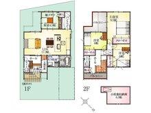 (9号地)、価格3498万円、4LDK、土地面積126.26㎡、建物面積112.21㎡
