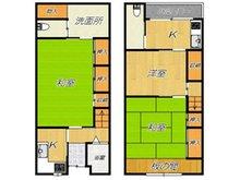 新上小阪 830万円 830万円、3KK、土地面積55.08㎡、建物面積81.26㎡