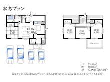 尾生町5(下松駅) 1393万円 建物プラン例(間取り)