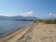 「近江白浜湖水浴場」目の前