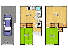 横小路町1(瓢箪山駅) 680万円 680万円、3DK、土地面積44.72㎡、建物面積87.21㎡