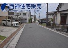 平岡町中野(別府駅) 3780万円 前面道路はゆったりとしておりお車の出し入れも楽に行っていただけます。現地(2021年5月24日)撮影