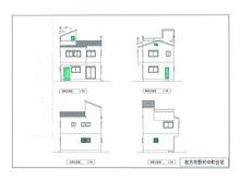 建物プラン例、土地価格500万円、土地面積153.92㎡、建物価格1500万円、建物面積90㎡外観:推奨プラン