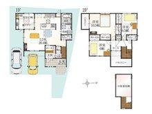 (10号地)、価格3415万6000円、4LDK、土地面積135.41㎡、建物面積115.16㎡