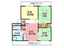 【投資用物件】厚生年金小中島団地 3号棟 3DK、価格650万円、専有面積51.7㎡、バルコニー面積15㎡昭和50年12月築です。 3DKで2面バルコニーあり! ぜひ、投資用としてご検討下さい!