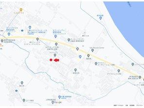 【橋本不動産】栗東市 林ニュータウン ◆販売2戸◆ 【一戸建て】 現地案内図