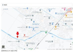 【橋本不動産】東近江市 能登川伊庭ニュータウン 【新登場】 【一戸建て】 現地案内図