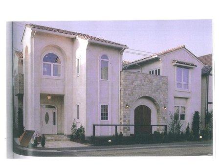 建物プラン例、土地価格150万円、土地面積247.54㎡、建物価格2200万円、建物面積132.25㎡外観:推奨プラン