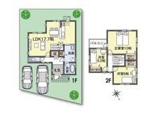 (36号地)、価格1946万3000円、3LDK、土地面積136.16㎡、建物面積94.81㎡