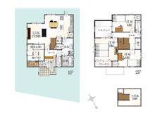 (35号地)、価格2816万6000円、4LDK、土地面積141.96㎡、建物面積105.57㎡