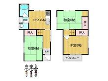 金田町6(大日駅) 720万円 720万円、3DK、土地面積48.54㎡、建物面積54.65㎡
