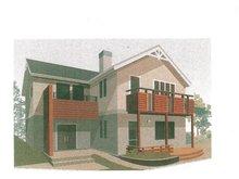 土地価格200万円、土地面積153.9㎡外観:推奨プラン