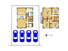 安曇川町青柳(安曇川駅) 1680万円 1680万円、4LDK、土地面積211.44㎡、建物面積103.09㎡