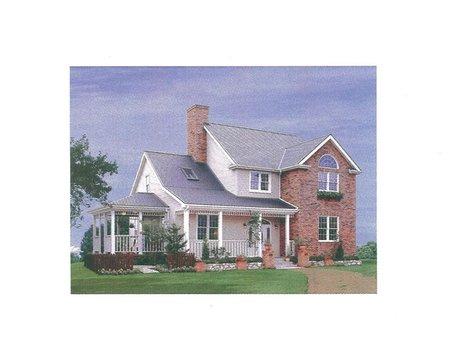 建物プラン例、土地価格900万円、土地面積562㎡、建物価格2200万円、建物面積132.25㎡外観:推奨プラン
