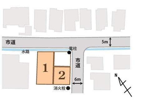 小平井3(草津駅) 2409万円 土地価格2409万円、土地面積218.46㎡