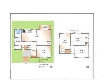 小倉東町(牧野駅) 1680万円 1680万円、4LDK、土地面積100.01㎡、建物面積96.23㎡4LDK+大型車庫