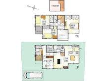 (Ⅱ期 24号地)、価格2961万3000円、4LDK、土地面積153.23㎡、建物面積103.33㎡