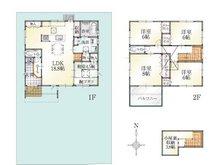 (Ⅱ期7号地)、価格3477万7000円、5LDK、土地面積184.28㎡、建物面積119.24㎡