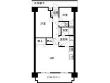 神戸市北区君影町1 グランドパレス君影 2LDK、価格980万円、専有面積66.37㎡2021年4月にリフォーム実施済み。