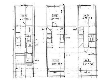 桂稲荷山町(桂駅) 3180万円 3180万円、4LDK、土地面積60.5㎡、建物面積95.99㎡