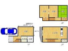 鳥飼下3(南摂津駅) 1380万円 1380万円、4LDK、土地面積46.63㎡、建物面積92.1㎡