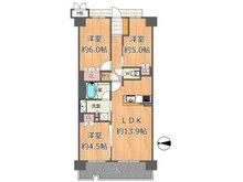プレミスト関目高殿駅前 3LDK、価格5280万円、専有面積64.35㎡、バルコニー面積11.4㎡ご紹介のお部屋は7階で、眺望良好です♪ファミリーにピッタリの3LDK!床暖房、食洗機など最新の設備!