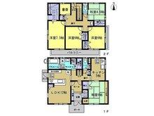 2980万円、5LDK+S、土地面積217.2㎡、建物面積135.34㎡二世帯住宅としても活用できるようキッチンを2箇所設け、居室も5部屋確保して延床40坪の大きな建物です