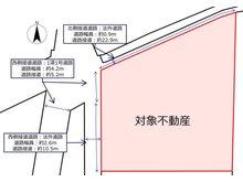 桜町2(栗林公園駅) 5350万円 土地価格5350万円、土地面積426㎡概略図