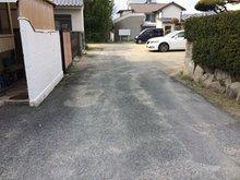 松崎町 198万円 幅員は4m未舗装ですが大型車も出入り可能です。 松崎小学校まで304mの立地です。