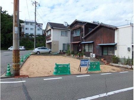 児島赤崎3 490万円 南東、南西道路に接した角地