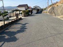 矢部(備中高松駅) 1150万円 駐車場用地の北側道路
