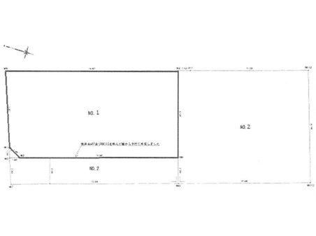 坂西1(坂駅) 2350万円 土地価格2350万円、土地面積135.2㎡