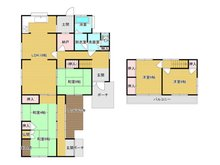 大字郡 650万円 650万円、5LDK+S(納戸)、土地面積245.3㎡、建物面積128.86㎡お部屋数が多く、2世帯の方にもおすすめですね!