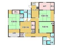 光井8(光駅) 870万円 870万円、4K+S(納戸)、土地面積176㎡、建物面積105.41㎡