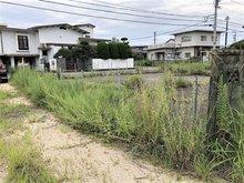 新橋町 700万円 対象地から見える道路です。こちらから主要幹線道路に行くことが出来ます。