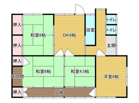 大字山野井 400万円 400万円、4DK、土地面積657.74㎡、建物面積71.37㎡