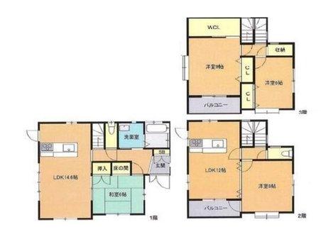 南蟹屋1(段原一丁目駅) 5900万円 5900万円、4LLDDKK、土地面積132.32㎡、建物面積133.77㎡