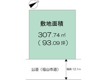 久松台3 2150万円 土地価格2150万円、土地面積307.74㎡