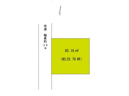 東深津町3 980万円 区画図