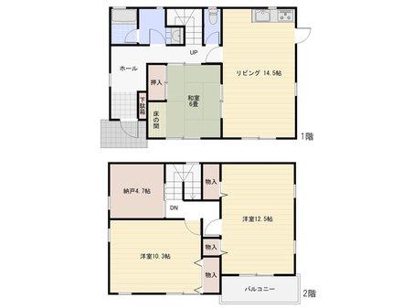 東片上(備前片上駅) 1150万円 1150万円、3LDK+S(納戸)、土地面積226.69㎡、建物面積112.82㎡