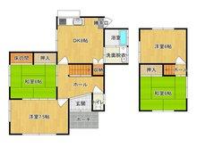 大字高井鮒田 1320万円 1320万円、4DK、土地面積167.08㎡、建物面積78.26㎡