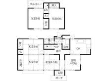 680万円、6DK、土地面積219.89㎡、建物面積102.23㎡続き間のある家で、ご家族揃っての食事もできます♪