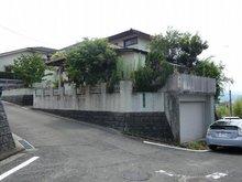 青山1丁目売地 堀車庫寸法(シャッター枠内) W3400 H2170