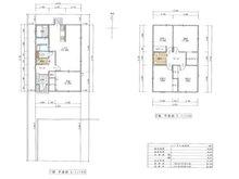 青葉台1 465万円 建物プラン例建物価格 1130万円、建物面積 102.68㎡