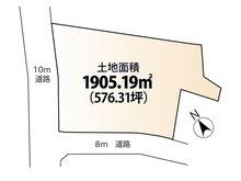 平良字久貝 1億3000万円 土地価格1億3000万円、土地面積1,905.19㎡