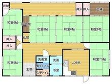 三橋町棚町(南瀬高駅) 1198万円 1198万円、6DK、土地面積493.94㎡、建物面積160.51㎡6DK広縁付きです。