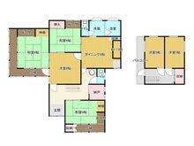 尾倉3(小波瀬西工大前駅) 2250万円 2250万円、6DK+S(納戸)、土地面積744.36㎡、建物面積115.96㎡