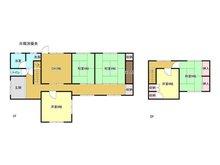 上山田 550万円 550万円、5DK、土地面積702.43㎡、建物面積126.58㎡