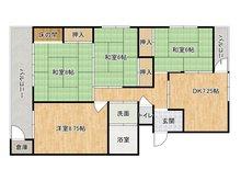 穴生ハイマート 4DK、価格330万円、専有面積80.39㎡、バルコニー面積15㎡